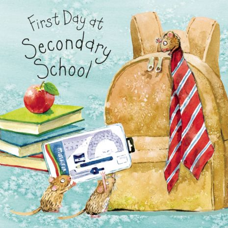 First Day At Secondary School Cards. First Day At School Cards. Good Luck Cards. Children Cards. Congratulations Cards. School Cards. Twizler.